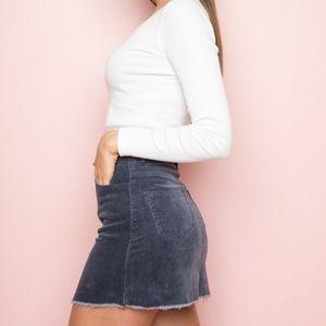NWOT Julliet Corduroy Skirt